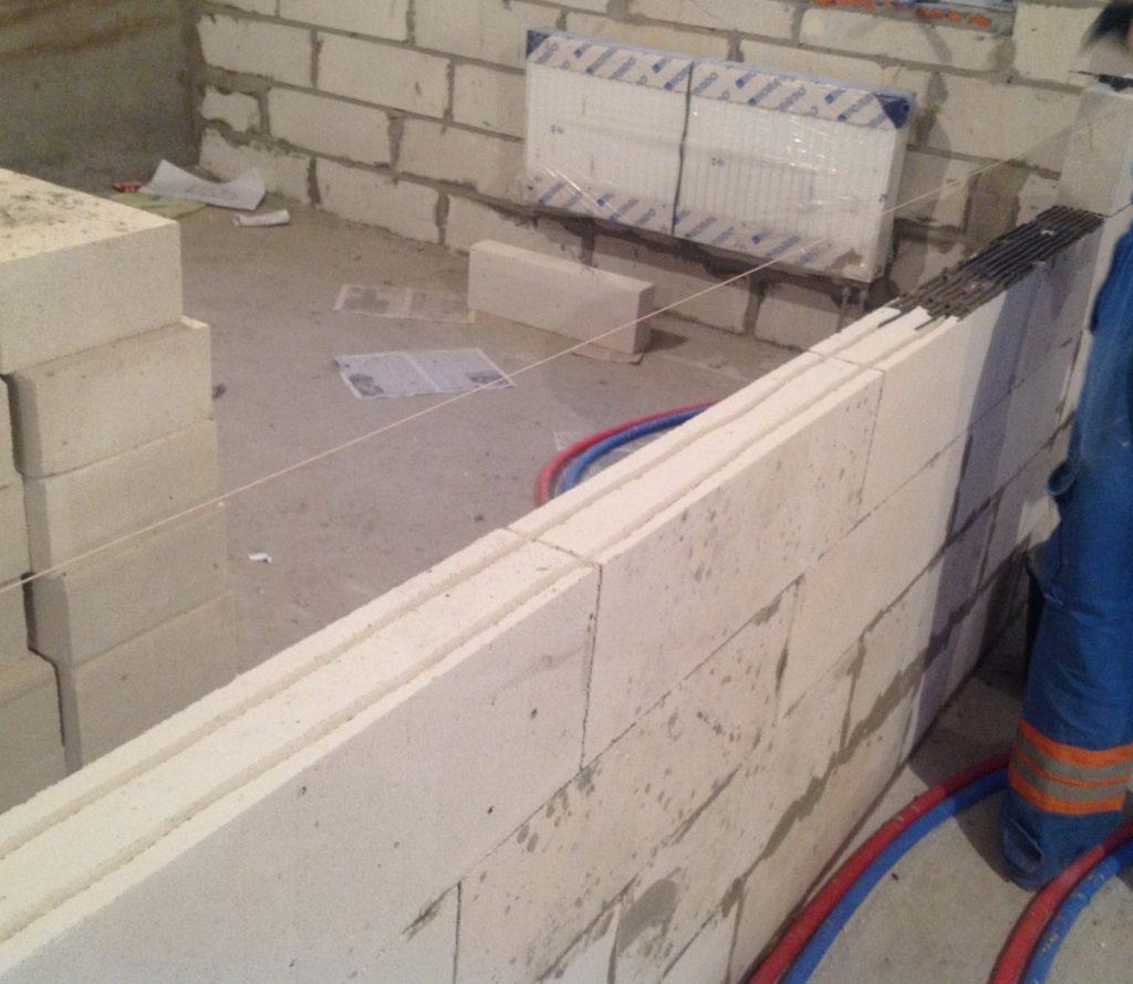 стены из пеноблока расценки