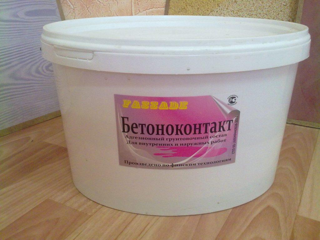 использование бетоноконтакта