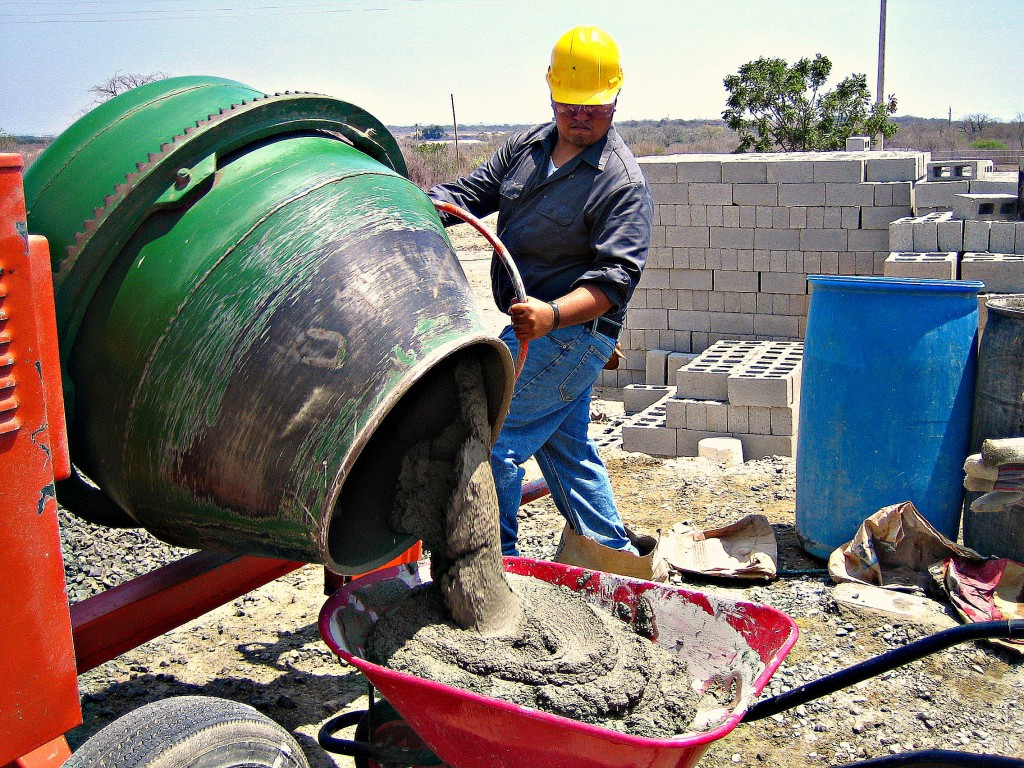 бетономешалка бетон